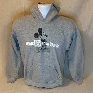 Walt Disney World Hoodie Sweatshirt Youth Mickey